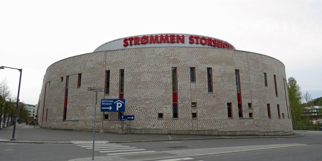 Strømmen Storsenter. Ny del 2012. Foto: Vårt Strømmen, vartstrommen.no.