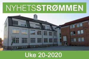 Read more about the article NyhetsStrømmen: Nyheter om Strømmen i uke 20-2020 (11. – 17. mai)