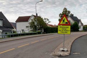 Read more about the article Strømsveien «stengt» – støy kan forventes