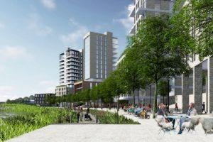 Read more about the article Inntil 15 etasjer og 4.000 innbyggere – behandles av Lillestrøm kommune