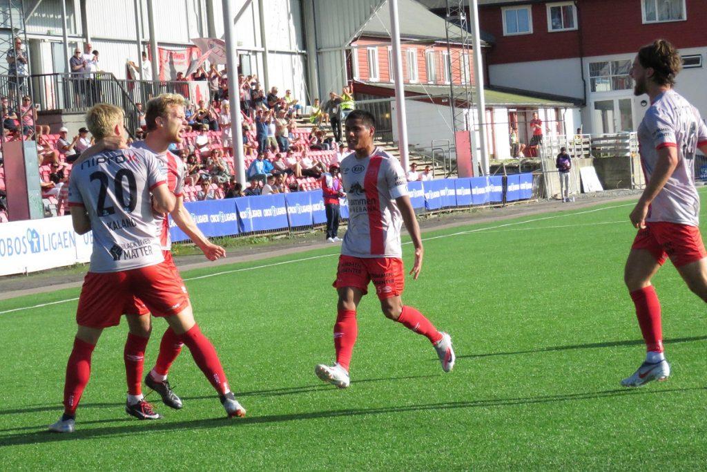 Strømmen IF, Strømmen stadion. OBOS-ligaen 2020. Fotball. Foto: Vårt Strømmen, vartstrommen.no.