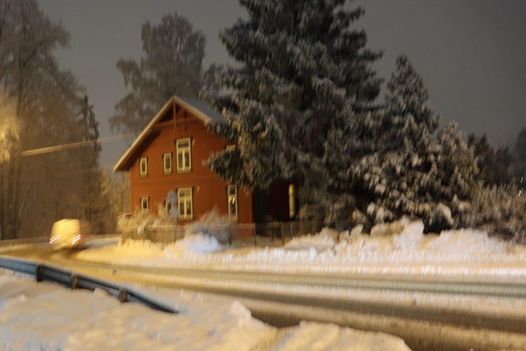 Strømsveien, bolighus i sveitserstil bygget 1911. Foto: Vårt Strømmen, vartstrommen.no.
