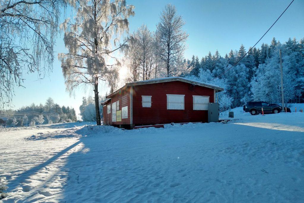 Strømmen og Lillestrøm Skiklubb. Klubbhus. Foto: Vårt Strømmen, vartstrommen.no.