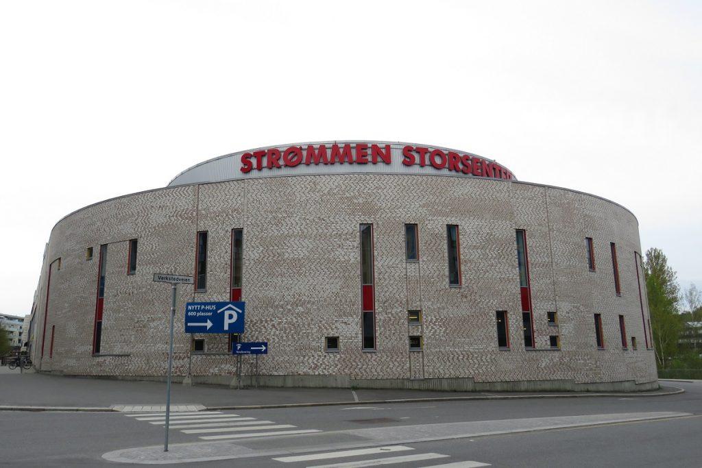 Strømmen Storsenter, kjøpesenter Olav Thon Gruppen. Foto: Vårt Strømmen, vartstrommen.no.