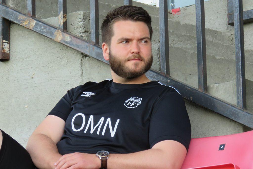 Strømmen IF. Trener Ole Martin Nesselquist på Strømmen stadion. OBOS-ligaen, toppfotball, trening. Foto: Vårt Strømmen, vartstrommen.no.