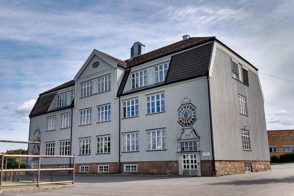Sagdalen skole på Strømmen i Lillestrøm kommune. Foto: Vårt Strømmen, vartstrommen.no.
