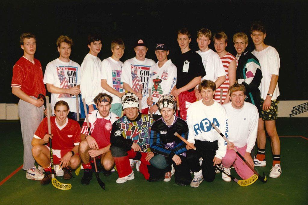 Strømmen Innebandyklubb. Idrett, innebandy. 30-årsjubileum. Foto: Strømmen Innebandyklubb.