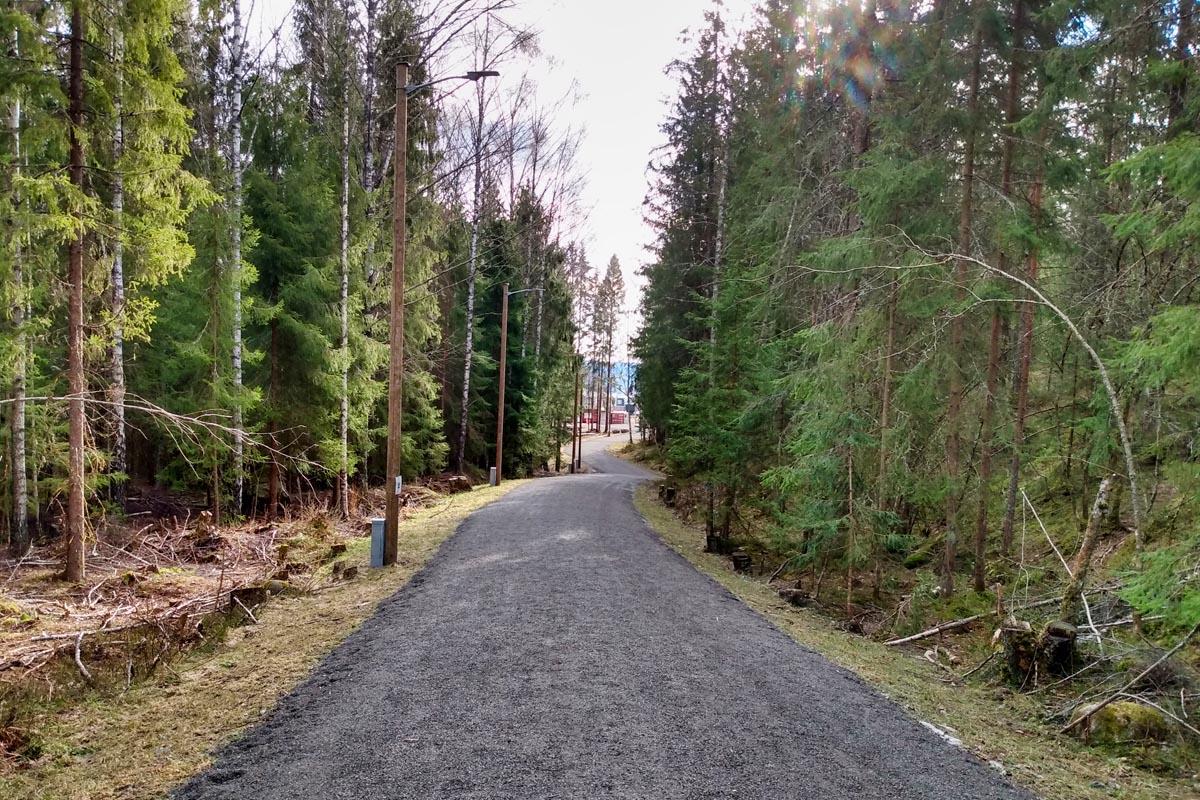Strømmen-turtips: Bråteskogen (turvei, tursti, turområde, lysløype). Foto: Vårt Strømmen, vartstrommen.no.