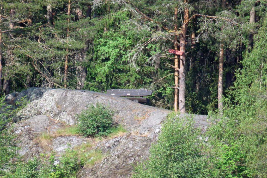 Strømmen i bilder - St.Hansfjellet, Bråteskogen. Turvei, tursti, utsiktspunkt. Foto: Vårt Strømmen, vartstrommen.no.
