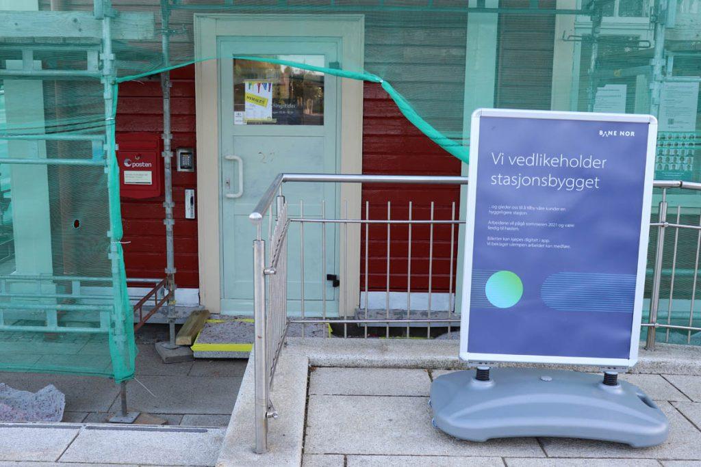 Strømmen i bilder: Strømmen stasjon, Bane Nor - Foto: Vårt Strømmen, vartstrommen.no.