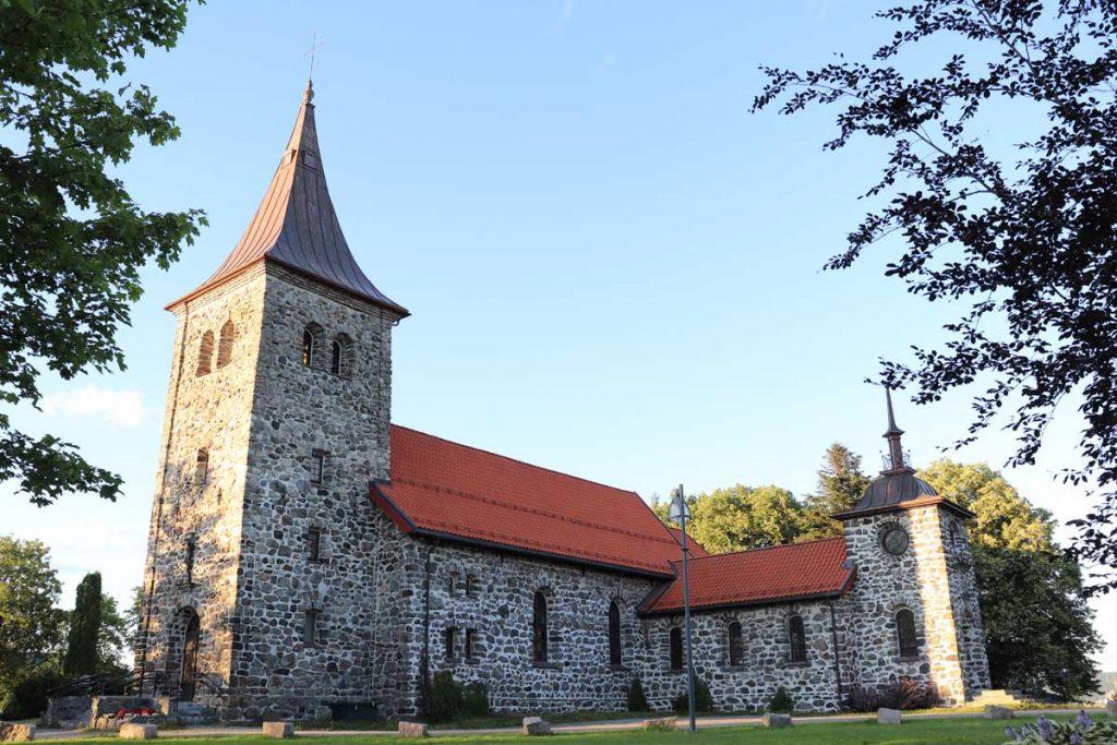 Strømmen i bilder: Strømmen kirke - Foto: Vårt Strømmen, vartstrommen.no.