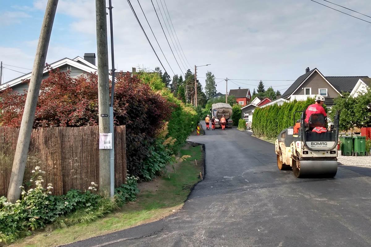 You are currently viewing Nå ble denne veien på Strømmen fin igjen – etter måneder med gravearbeid (se bilder)