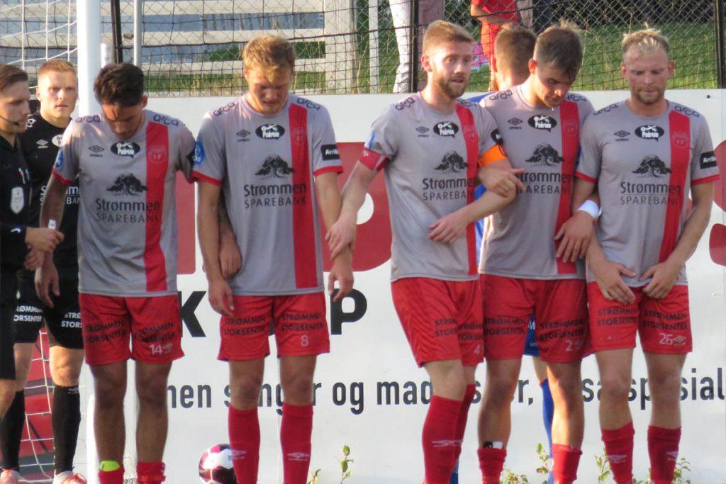 Strømmen IF - Ålesund på Strømmen stadion. OBOS-ligaen, fotball. Foto: Vårt Strømmen, vartstrommen.no.