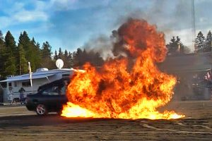 Read more about the article Ekstremt motorshow på Strømmen – spektakulære klipp fra 2010 [VIDEO]