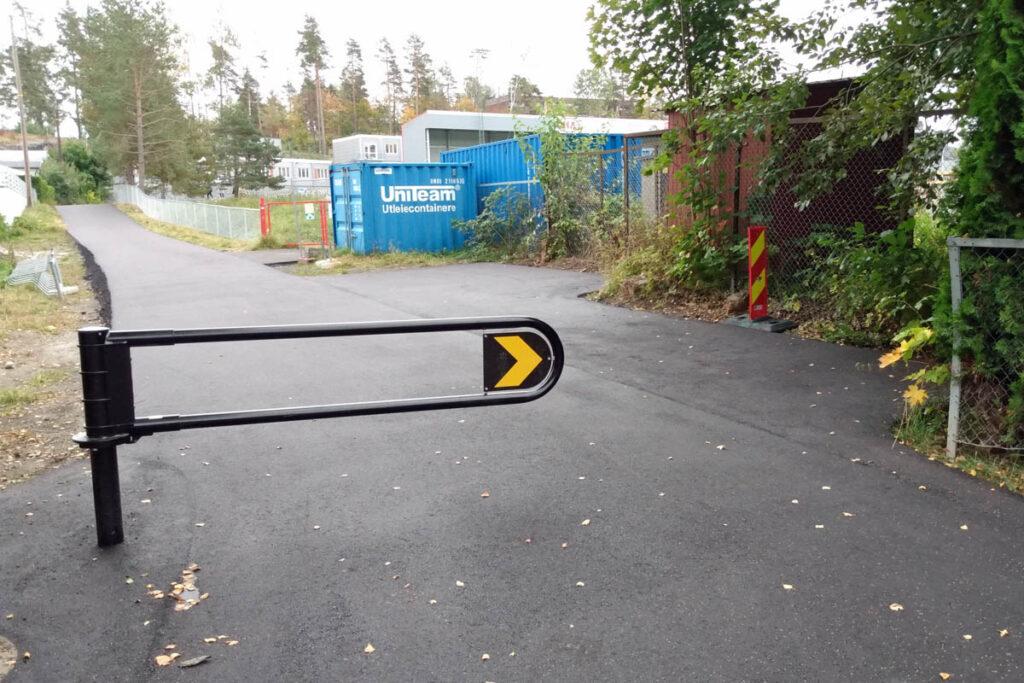 """Ny"" gangvei ved Strømmen stadion"